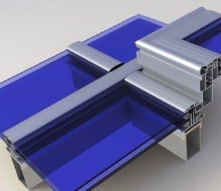 Алюминиевый профиль для стекла