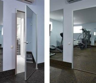 Зеркальные двери