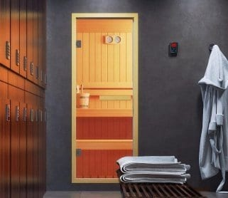 Двери для саун и хамамов