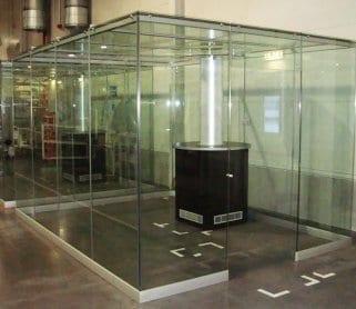 Курительные кабины из стекла