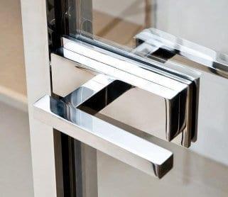 Для стеклянных распашных дверей