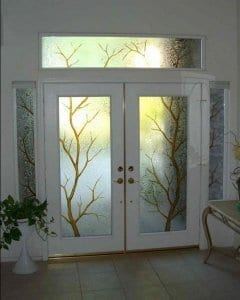 Дизайн входных дверей
