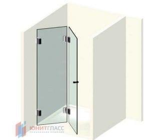 Складные душевые двери
