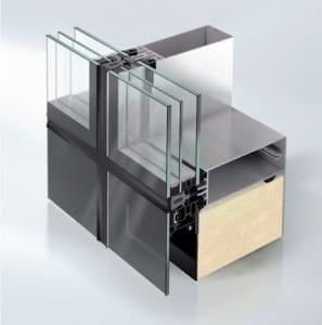 Зажимной профиль для стекла