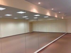 Зеркала для танцзалов
