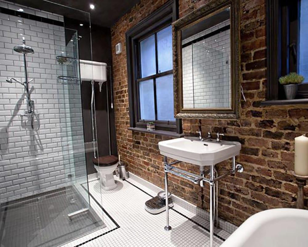 Советы по оформлению ванной в стиле лофт