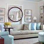 Зеркала в интерьере: разновидности, формы, варианты расположения