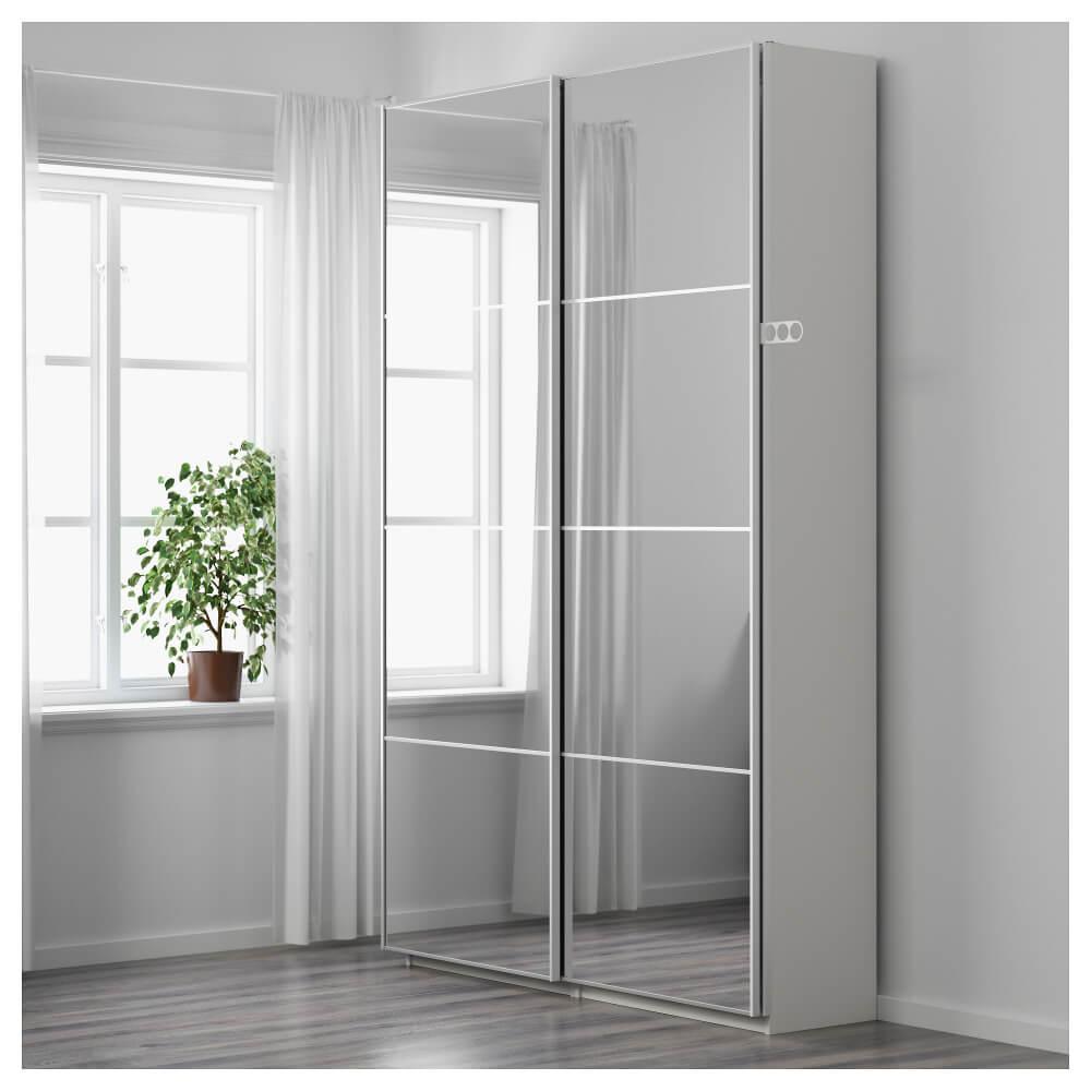 Стеклянные двери для шкафа