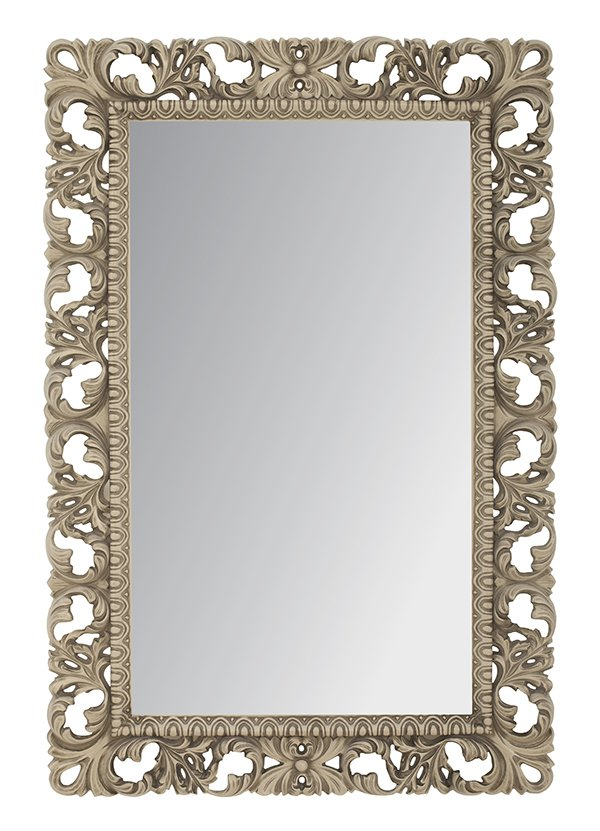 на стену зеркало прямоугольник