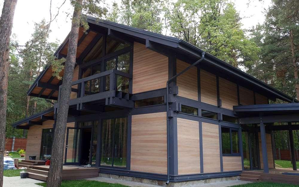 безрамного остекления деревянных домов